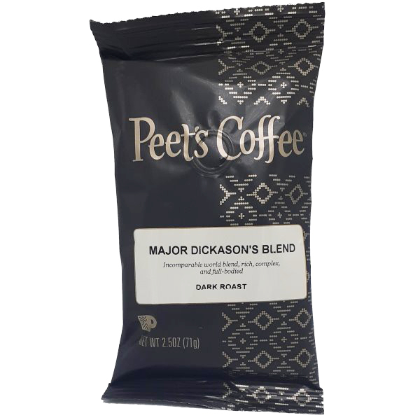 Peet's Coffee Major Dickason's Blend Pouch Pack thumbnail