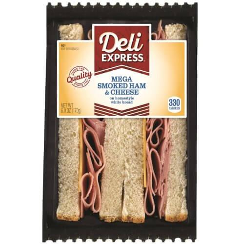 Deli Express Mega Smoked Ham and Cheese thumbnail