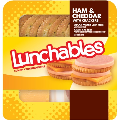 Lunchables Ham & Cheddar Cracker thumbnail