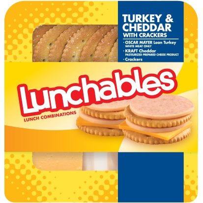 Lunchables Turkey & Cheddar Cracker thumbnail