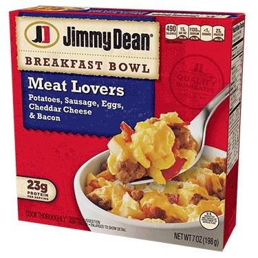 Jimmy Dean Meat Lovers Breakfast Bowl thumbnail