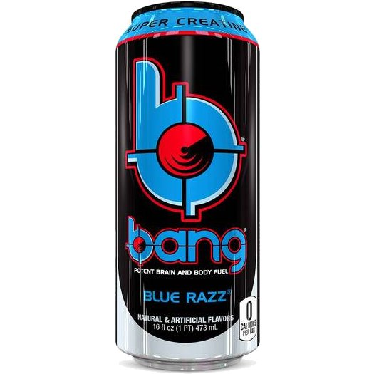 VPX Bang Blue Razz 16oz thumbnail