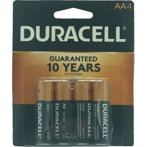 Duracell AA Batteries 4ct thumbnail