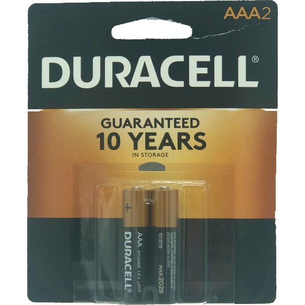 Duracell AAA Batteries 2ct thumbnail