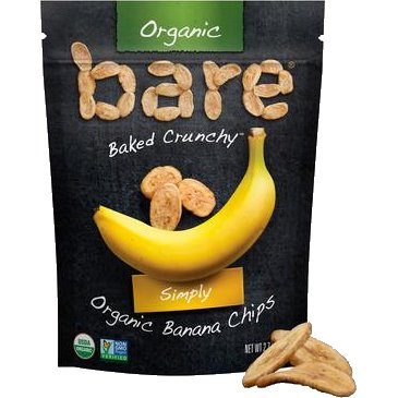 Bare Simply Banana Chips 1.3oz thumbnail