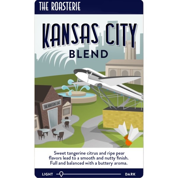 Roasterie KC Blend 5lb Whole Bean thumbnail