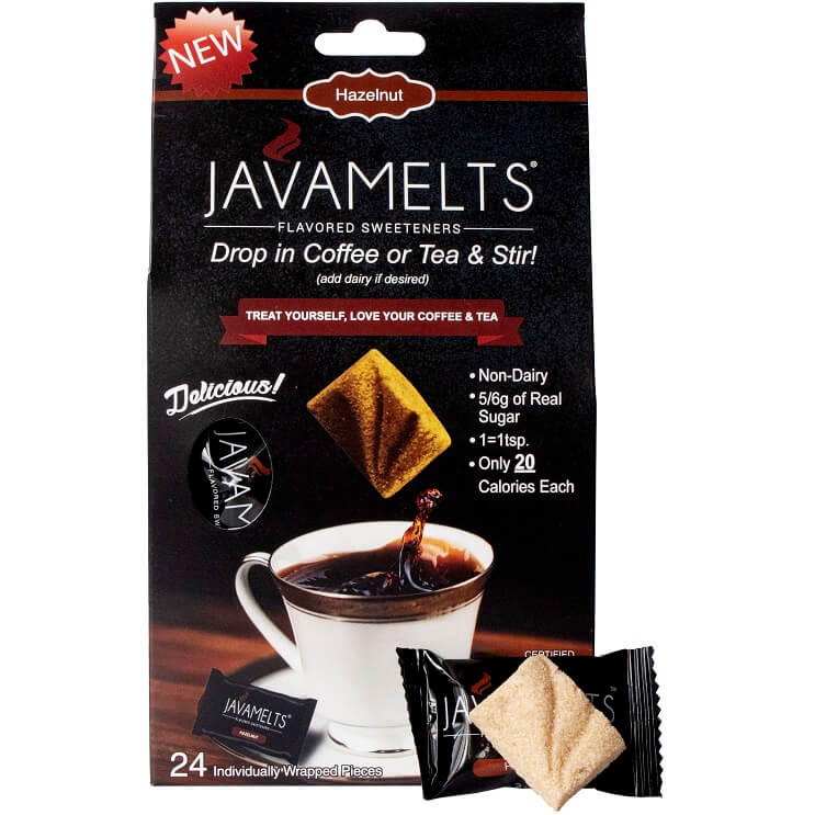 JAVAMELTS Hazelnut Retail Box (24) thumbnail