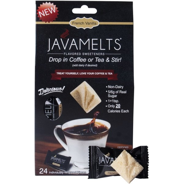 JAVAMELTS French Vanilla Retail Box (24) thumbnail