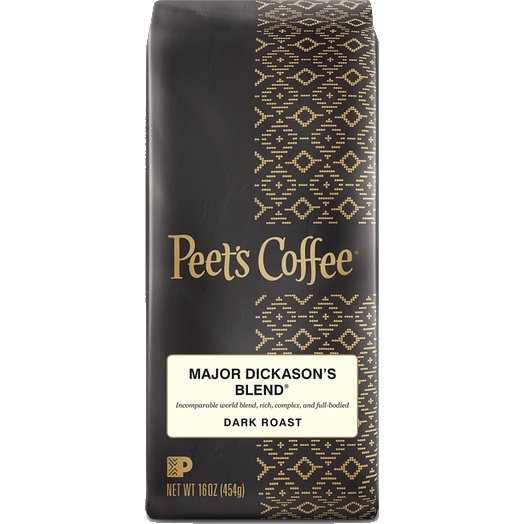Peet's Coffee Major Dickinson Blend Whole Bean 1lb thumbnail