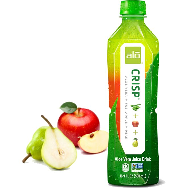Alo Crisp Apple & Pear 16.9oz thumbnail
