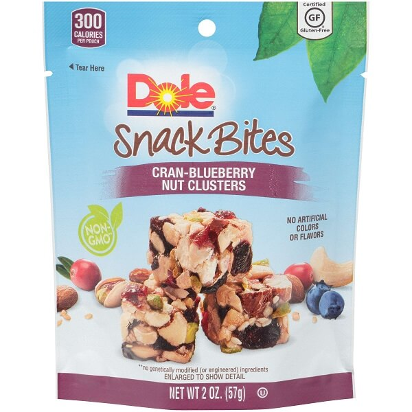 Dole Snack Bites Cranberry Blueberry thumbnail