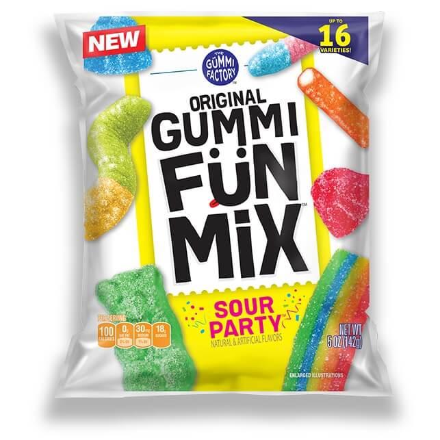 Gummi Fun Mix Sour Party thumbnail