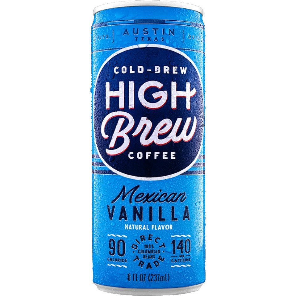 High Brew Mexican Vanilla 8oz thumbnail