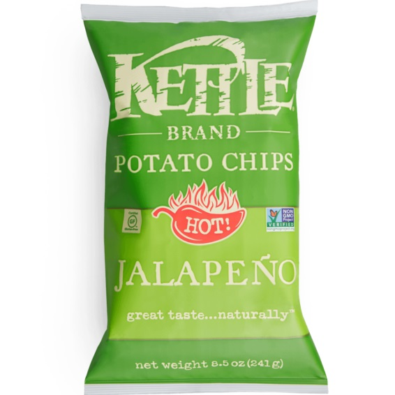 Kettle Brand Jalapeno Chips 2oz thumbnail
