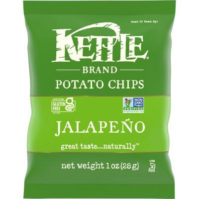 Kettle Brand Jalapeno Chips 1oz thumbnail