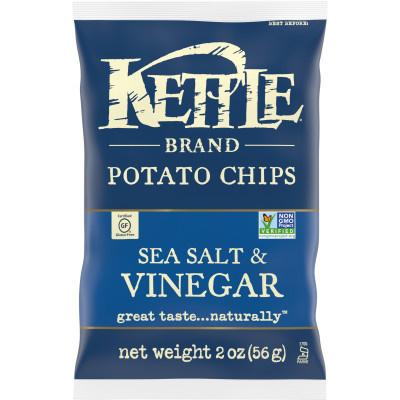Kettle Brand Sea Salt & Vinegar 2oz thumbnail