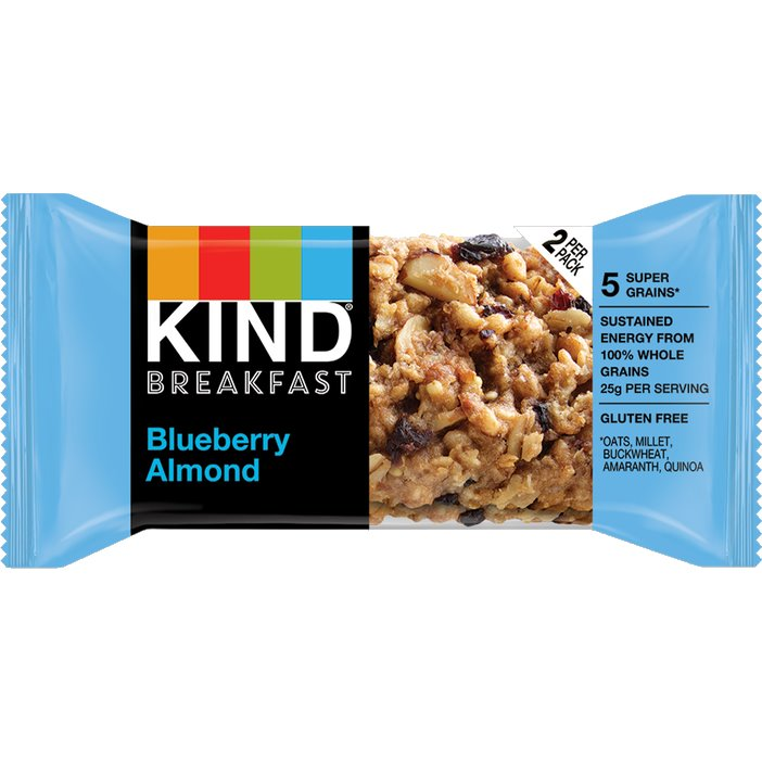 Kind Bar Breakfast Blueberry Almond thumbnail