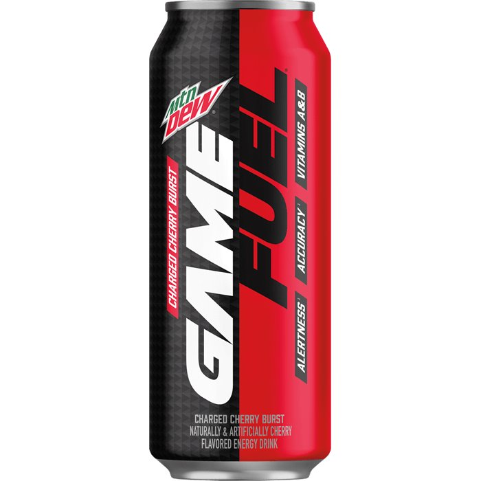 Mountain Dew Game Fuel Cherry thumbnail