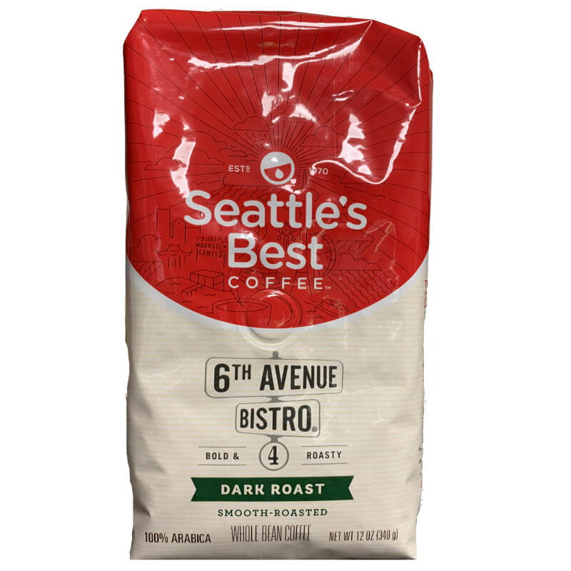 Seattle's Best 6th Ave Bistro Whole Bean 12oz thumbnail
