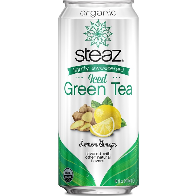 Steaz Lemon Ginger Tea 16oz thumbnail