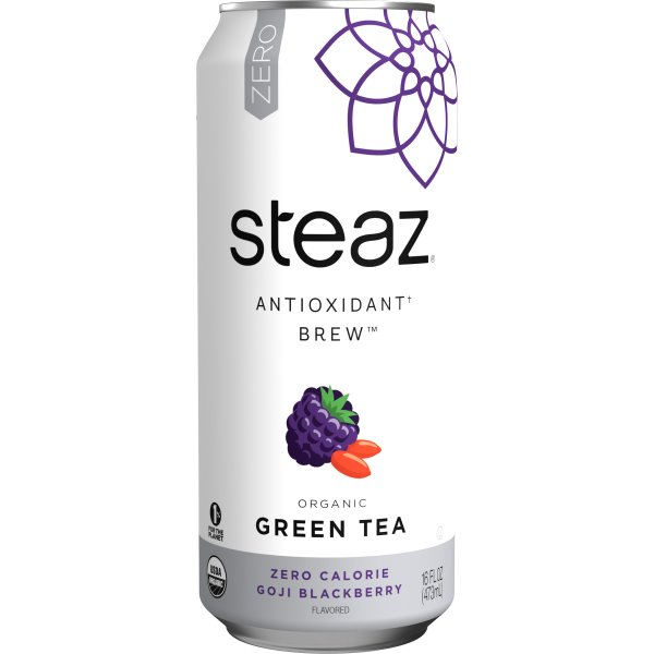 Steaz Zero Goji Blackberry 16oz thumbnail