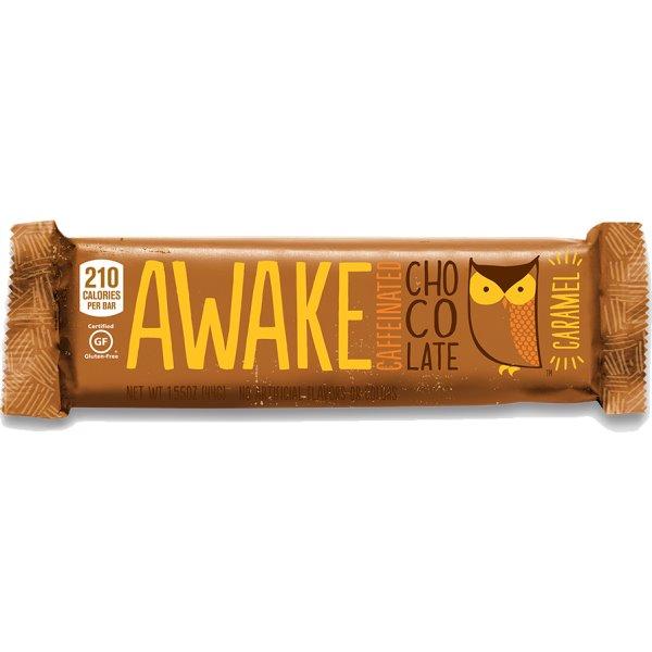 Awake Caramel Chocolate Bar 1.55oz thumbnail