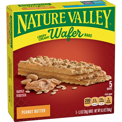Nature Valley Peanut Butter Wafer thumbnail