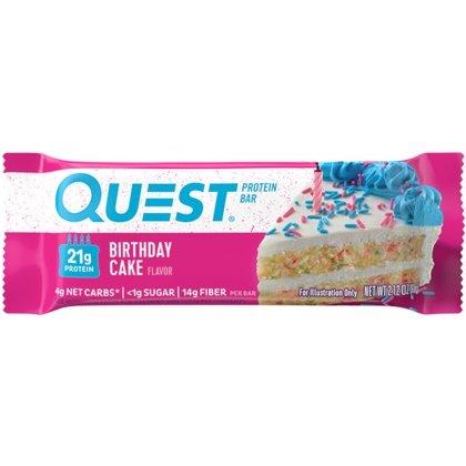 Quest Bar Birthday Cake 2.12oz thumbnail