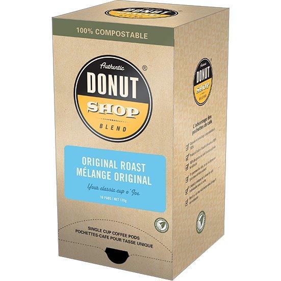 Reunion Island Pods Donut Shop Original Roast 16 ct thumbnail