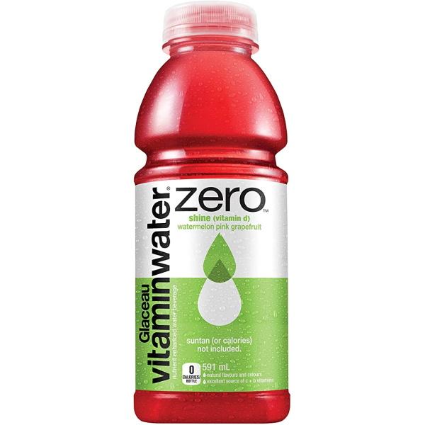 Vitamin Water Zero Shine 20oz thumbnail