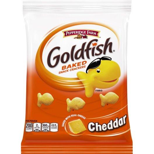 Goldfish Cheddar Cheese 2.25oz thumbnail