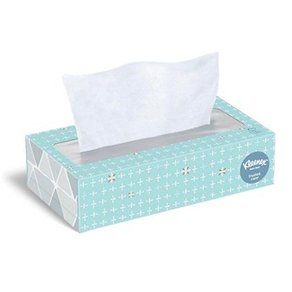 Kleenex Marque Brand Tissues Box thumbnail
