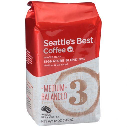 Seattle's Best Portside Blend Whole Bean 6/12oz thumbnail
