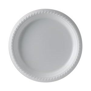 "9"" Dart Foam Plate thumbnail"