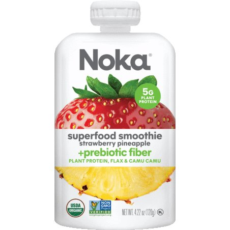 Noka Strawberry Pineapple Smoothie thumbnail