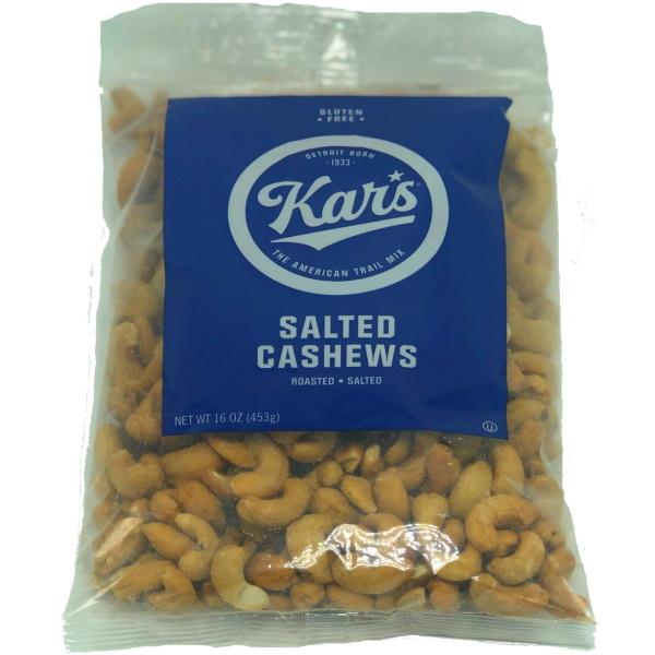 Kar Nuts Salted Cashews 16oz bag thumbnail
