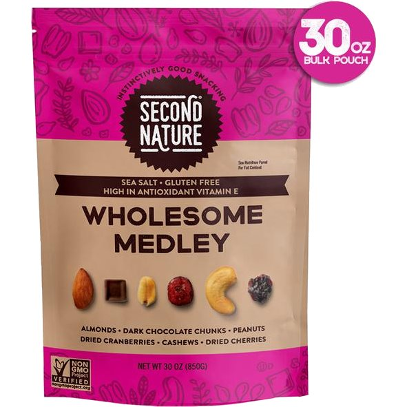 Second Nature Wholesome Medley Trail Mix 30oz bag thumbnail