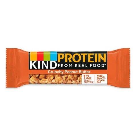 Kind Plus Crunchy Peanut Butter 50g thumbnail