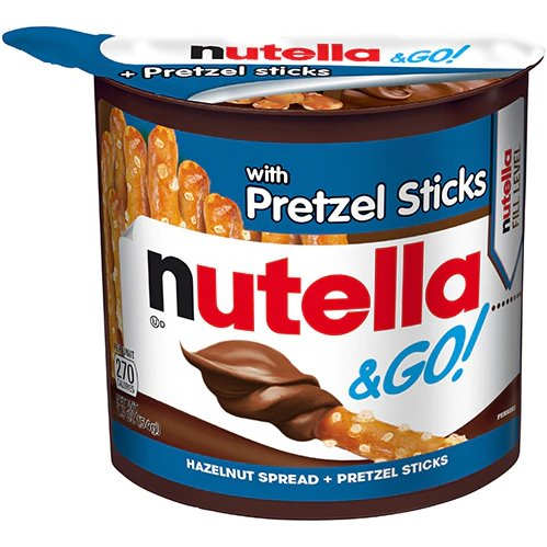 Nutella & Go with Pretzel Sticks thumbnail