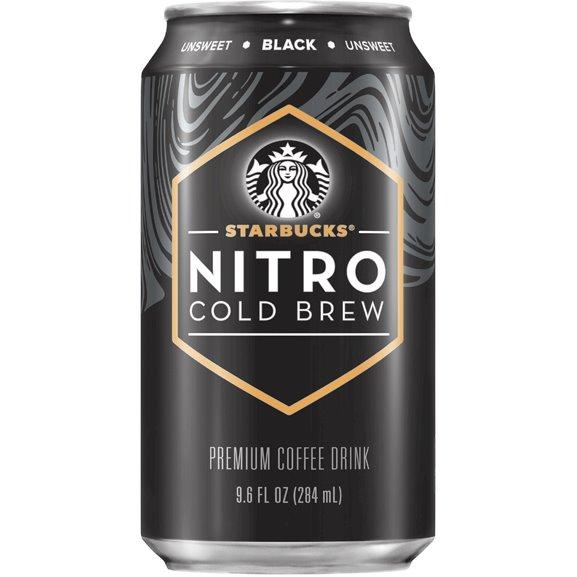 Starbucks Nitro Cold Brew Black 9.6oz thumbnail