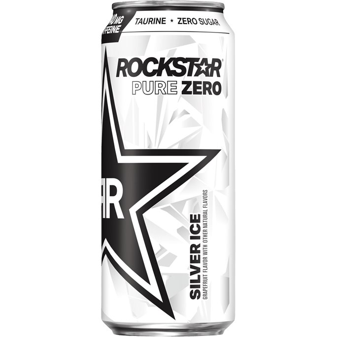 Rockstar Energy Silver Ice Pure Zero 473ml thumbnail
