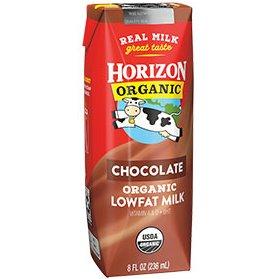 Horizon Organic Chocolate Milk 8oz thumbnail