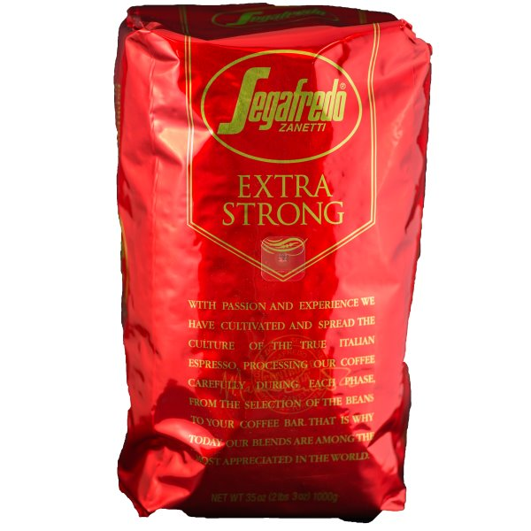 Segafredo Espresso X Strong Whole Bean 2.2lb Bags thumbnail