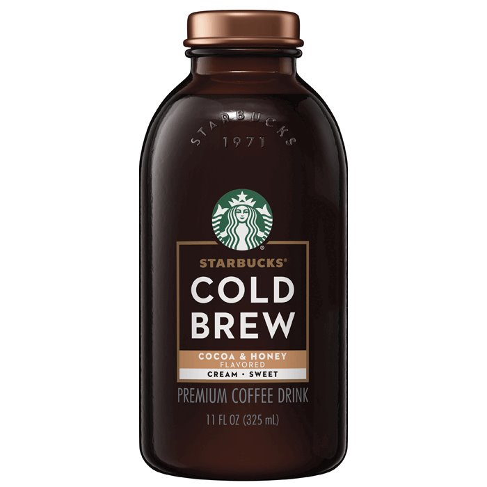 Starbucks Cold Brew Cocoa Honey 11oz thumbnail