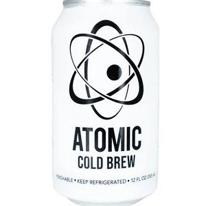 Atomic Coffee Roasters Cold Brew Can 12oz thumbnail