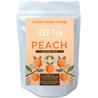 Stone Creek Coffee Tea Iced Peach Black 3g thumbnail