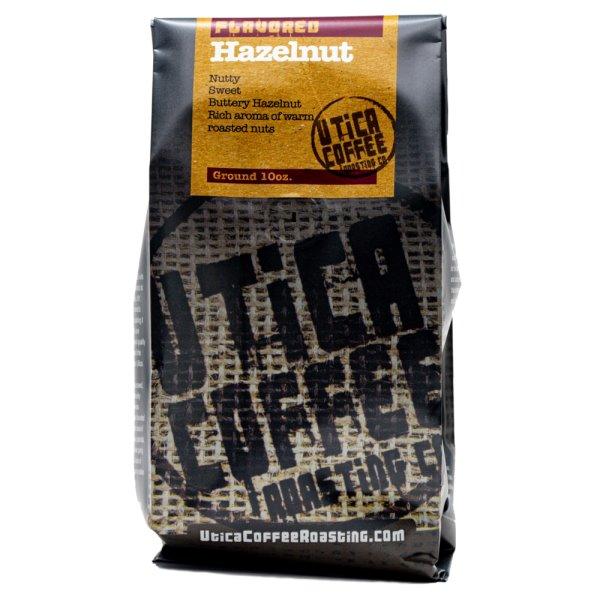 Utica Coffee Roasters Hazelnut Ground 10oz thumbnail
