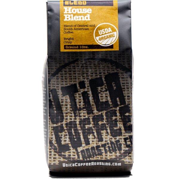 Utica Coffee Roasters House Blend Ground 10oz thumbnail