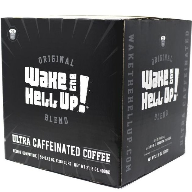 K-Cup Utica Coffee Roasters Wake the Hell Up 12ct thumbnail