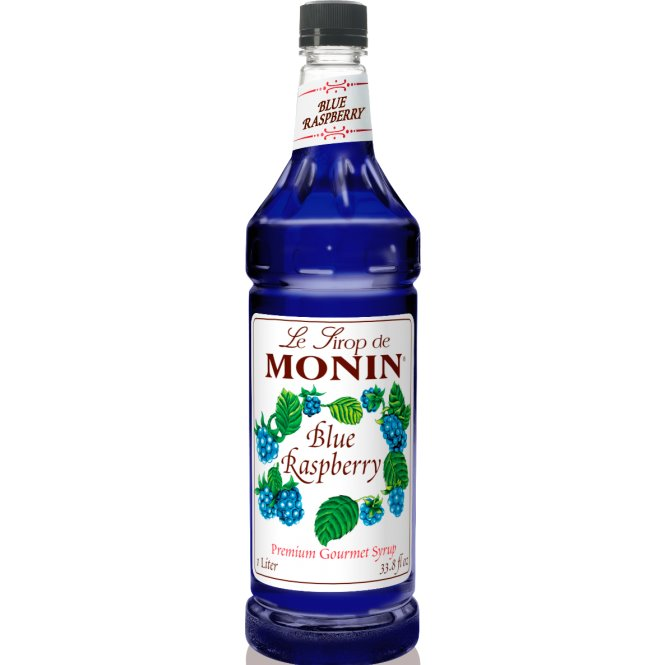 Utica Coffee Roasters Monin Blue Raspberry 1 ltr thumbnail